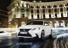 Lexus CT Hybrid restyling: tutti i dati ufficiali