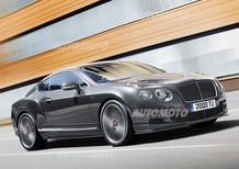 Bentley Continental GT Speed: ora con 635 CV