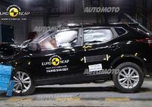 Nuovo Nissan Qashqai: 5 stelle Euro NCAP