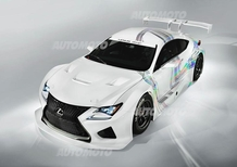 Lexus RC F GT3 concept: svelata la sportiva giapponese