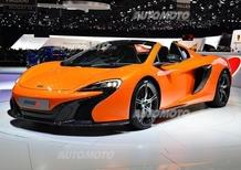 McLaren al Salone di Ginevra 2014