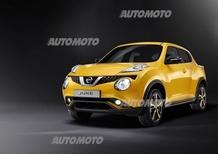 Nissan Juke restyling: svelata a Ginevra