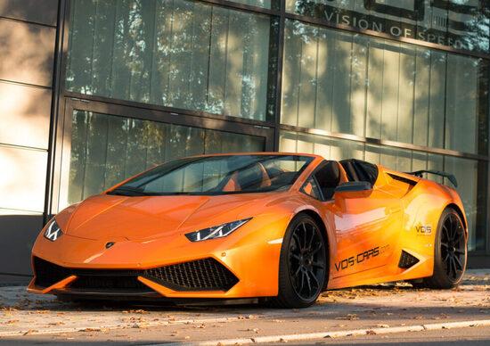 Lamborghini Huracan Spyder by Vision Of Speed: tripudio di carbonio