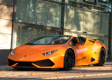 Lamborghini Huracan Spyder by Vision Of Speed: tripudio di carbonio