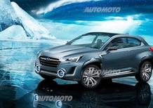Subaru Viziv 2 concept: svelata a Ginevra