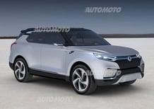 SsangYong XLV concept: sette posti davvero originali