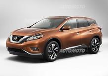 Nuova Nissan Murano 2014