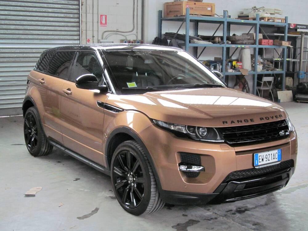 Land Rover Range Rover Evoque 2.2 SD4 5p. Dynamic Launch Edition del 2014 usata a Donnas