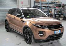 Land Rover Range Rover Evoque 2.2 SD4 5p. Dynamic Launch Edition del 2014 usata a Donnas