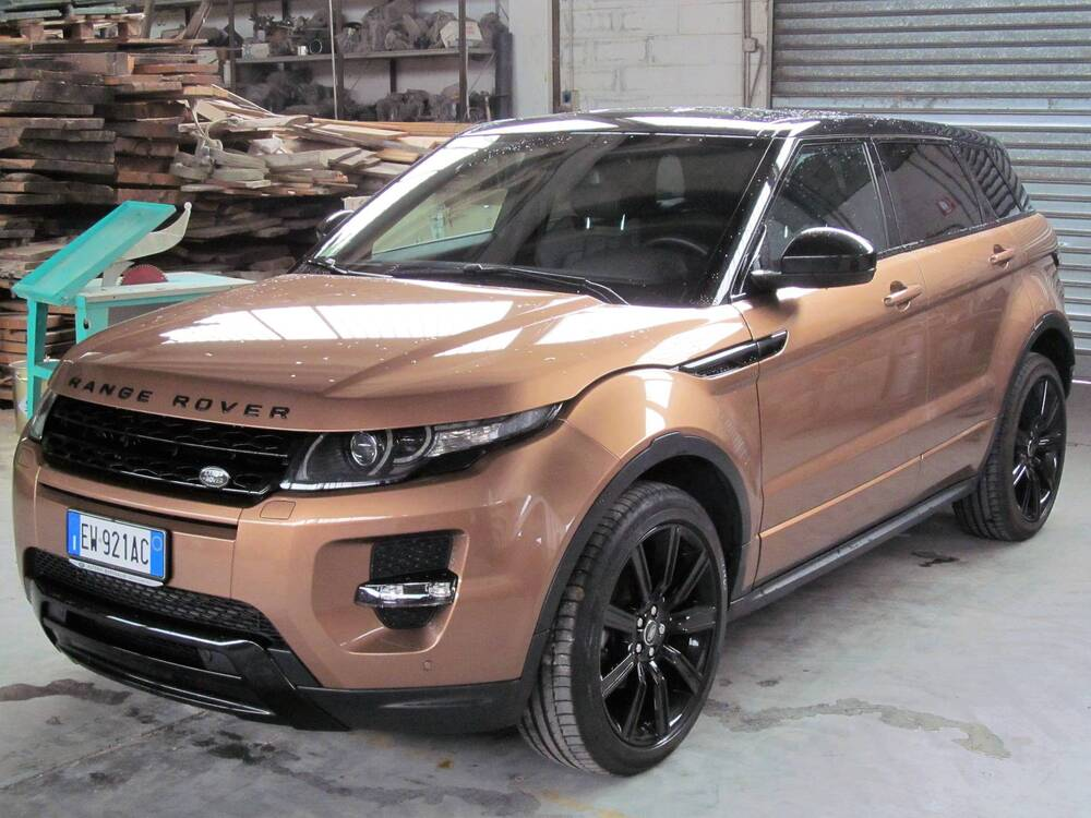 Land Rover Range Rover Evoque 2.2 SD4 5p. Dynamic Launch Edition del 2014 usata a Donnas (3)
