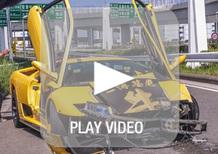 Lamborghini: un raduno in Giappone finisce male per una Diablo