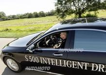 Mercedes vs Google: la Classe S ha guidato da sola per 100 km