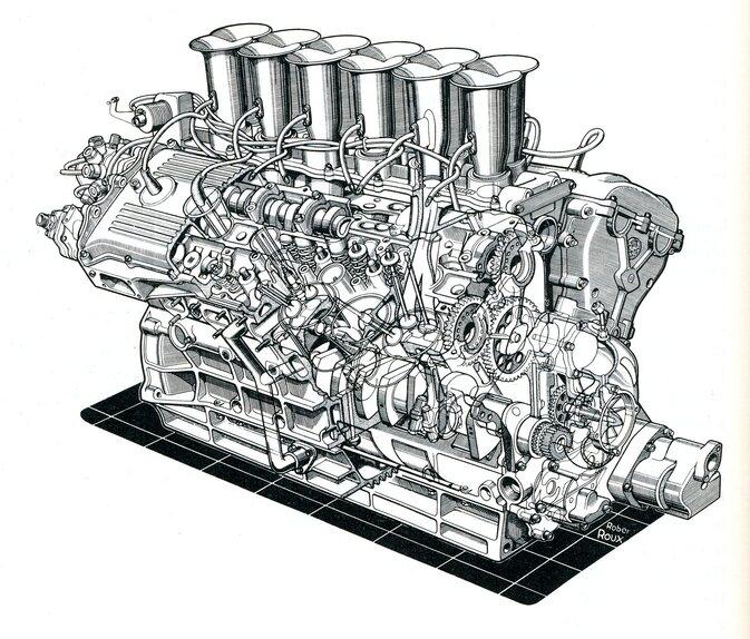 Tecnica Formula 1. Gli altri V12: Alfa Romeo, Matra e gli altri (2)