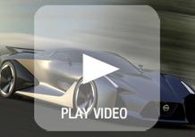 Nissan Concept 2020 Vision Gran Turismo: il design spiegato in un video