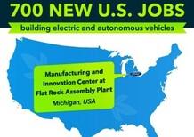 Investimenti Ford per la fabbrica in Michigan
