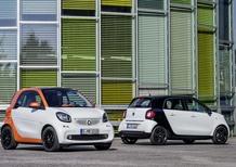 Nuove smart fortwo e forfour: tutti i dettagli da Berlino