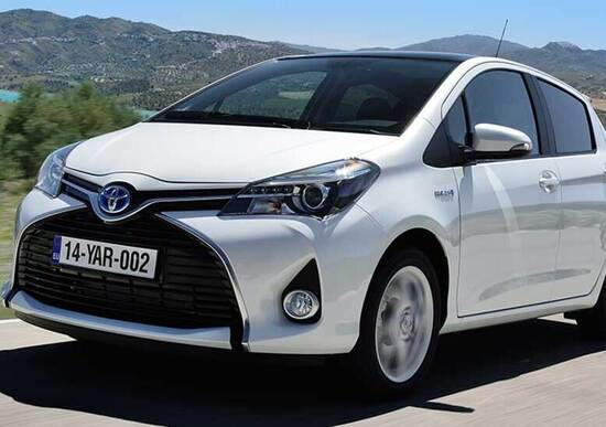 Toyota Yaris (Hybrid) restyling