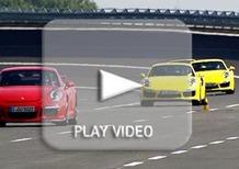 Porsche Experience con 911 GT3, Turbo, Cayman GTS e 918 Spyder. Un'esplosione di emozioni
