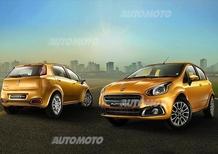 Fiat Punto EVO: ecco il restyling per il mercato indiano
