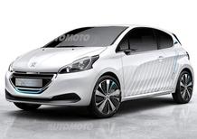 Peugeot 208 HYbrid Air 2L concept: apre la strada all'auto da 2 l/100km