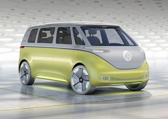 NAIAS 2017: Volkswagen I.D. Buzz, ennesimo concept elettrico del Gruppo tedesco