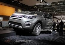 Land Rover al Salone di Parigi 2014