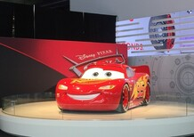 Cars 3, al Salone di Detroit c'è anche Saetta McQueen