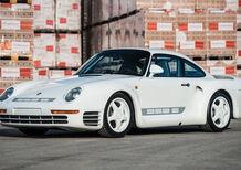 Porsche 959 Sport: all'asta uno dei 29 esemplari