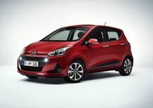 Hyundai i10 restyling: i prezzi di listino