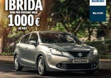 Suzuki Baleno è ibrida con soli 1000 € in più