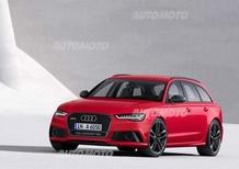 Audi S6, S6 Avant e RS6 Avant restyling: informazioni e prezzi