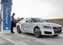 Audi A7 h-tron concept: l'auto a idrogeno diventa anche plug in
