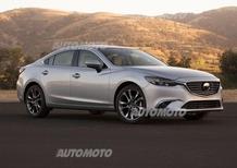 Mazda6 restyling: ecco come cambia dentro e fuori