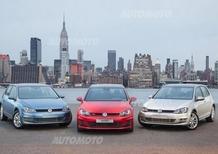 Volkswagen Golf, dal diesel all'elettrico. Ecco l'esercito al completo