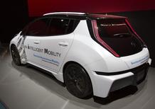 Nissan Leaf, test per la guida autonoma a Londra da febbraio