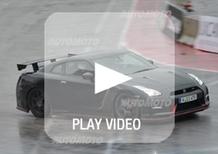 Nissan: brividi (e risate) in pista con i modelli Nismo e l'ex pilota di F1 Liuzzi