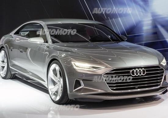 Audi prologue l auto che guida da sola si controller con for L auto che si guida da sola
