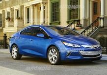 Nuova Chevrolet Volt: più lontani (in elettrico) con meno peso