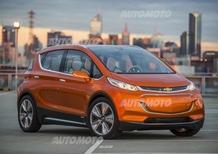 Chevrolet Bolt concept: un prototipo per sfidare la i3?