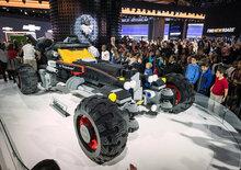 Lego, Batmobile a grandezza naturale a Detroit