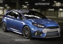 Nuova Ford Focus RS: oltre 315 CV e trazione integrale