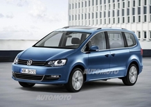 Volkswagen Sharan: a Ginevra 2015 il restyling