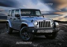 Jeep Wrangler Black Edition II: versione speciale con look total black