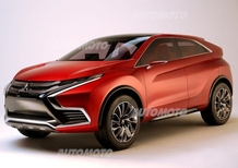 Mitsubishi XR-PHEV II Concept, ecco le prime immagini