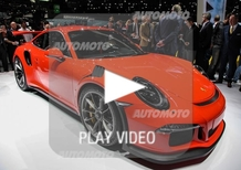 Porsche al Salone di Ginevra 2015