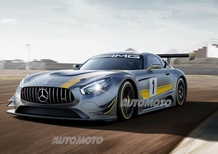 Mercedes AMG GT3: la nuova arma da pista con V8 di 6.2 litri