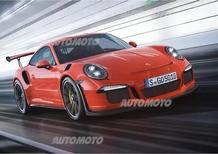 Porsche 911 GT3 RS: sportività estrema