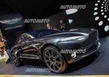 Aston Martin DBX Concept: crossover elettrico!