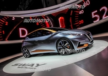 Nissan Sway Concept: si sente aria di nuova Micra