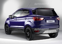 Ford EcoSport, è già tempo di restyling: sparisce la ruota di scorta esterna